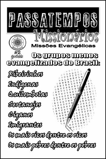 Revista Passatempos Evangélicos grátis
