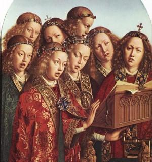 Anjos cantando